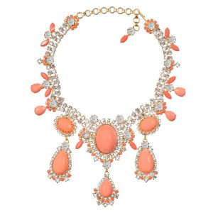 Alan Anderson Drop Necklace Pink Opal