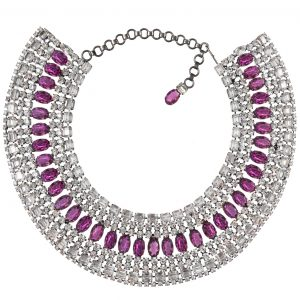 Alan Anderson Drop Necklace Amethyst