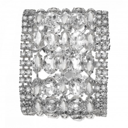 Jewels by Alan Anderson Holiday Crystal Flex Bracelet