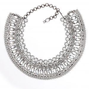 Jewels by Alan Anderson Holiday Crystal Art Deco Cleopatra Collar