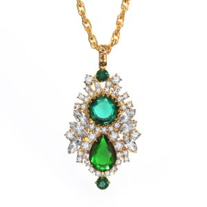 Jewels by Alan Anderson Holiday Pendant on Chair
